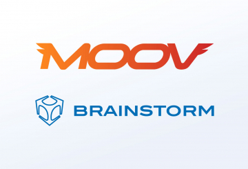 Moov studios selects Brainstorm to create virtual set, AR and motion graphics