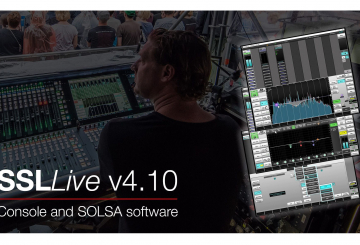 Solid State Logic debuts Live V4.10 feature