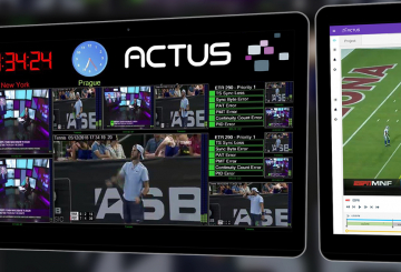 Actus Digital to demonstrate all-in-one media platform at NAB 2020