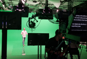 How a production company produces virtual live events during Covid-19