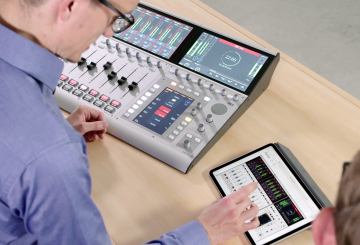 DHD mixers receive new features through firmware upgrades
