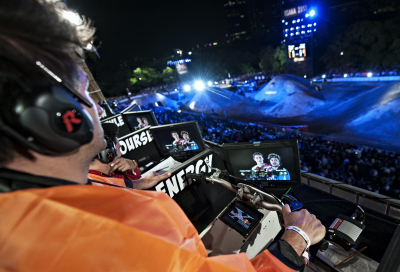 Riedel supports Red Bull X-Fighters motocross
