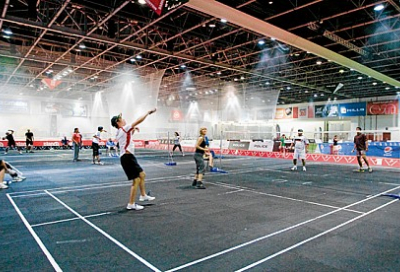 Dubai Sports World laces up its trainers