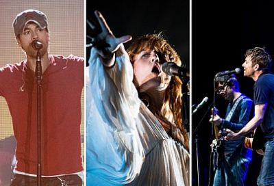Blur, Florence and Enrique to headline F1 concerts