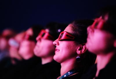3D drives European cinema receipts to 12% growth
