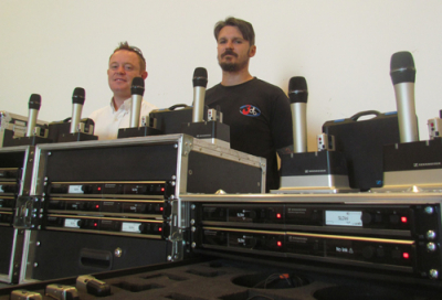 3db takes delivery of Sennheiser system