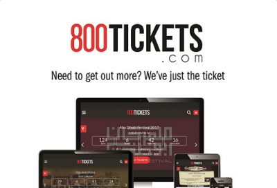 New ticketing website, 800Tickets, goes live