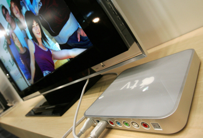 Apple to take on Google TV