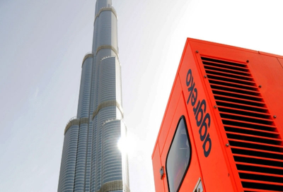 Aggreko powers Mohamed Mounir at Burj Khalifa Park