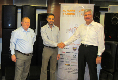 Al Fanny Trading distributes ElectroVoice in Egypt