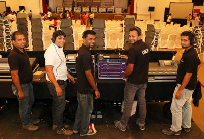 Audio Tech Oman adds HME DX210 system