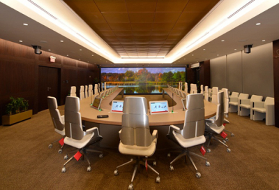 Barco brings state-of-the-art solutions to Aramco