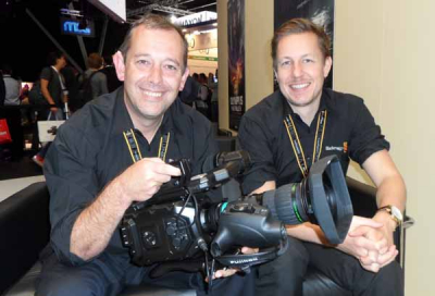 Blackmagic impresses with B4 mount for URSA Mini