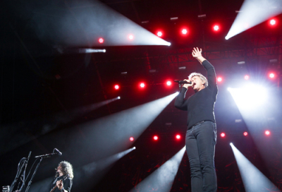 Bon Jovi gets Abu Dhabi audience rocking