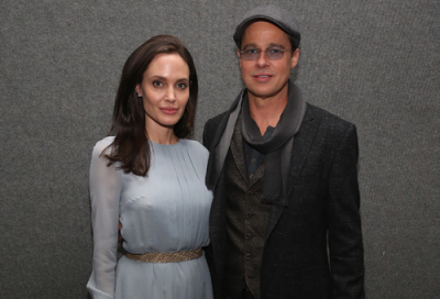 Brad Pitt and Angelina Jolie in RAK for filming
