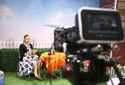 Lights, camera, action: Cabsat 2014 in pics