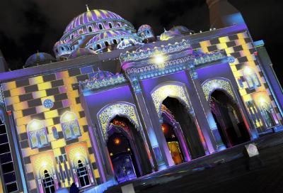 ShowTex takes part in Sharjah Light Festival