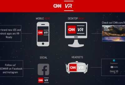 CNN launches VR news unit