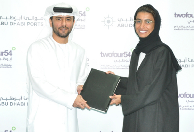 Twofour54 inks new deal with Abu Dhabi Ports