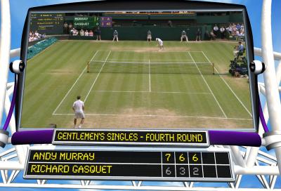 Chyron aces Wimbledon graphics