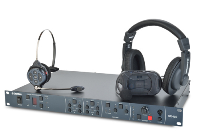 Clear-Com reveals DX410 Wireless Intercom System