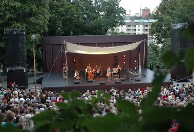 MLA Compact captures sound at Parkteatern Festival
