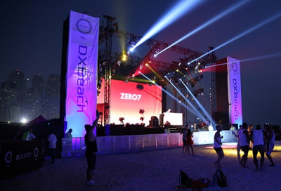 eclipse Staging Services delivers DXBeach day one