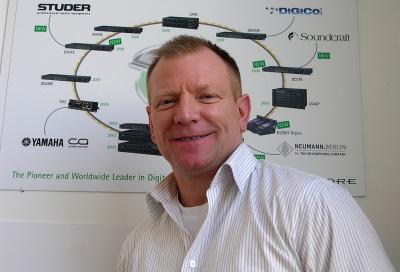 Mark Davidson joins Optocore