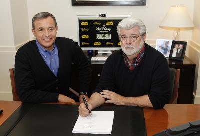 Disney buys Lucasfilm for $4 billion