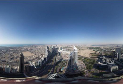 VIDEO: Sheikh Zayed Road in 360-degree 8K clip