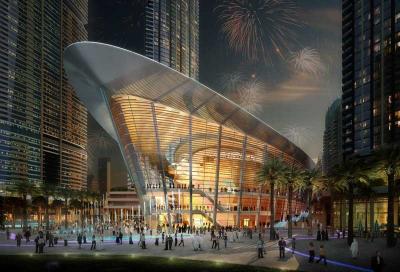 Dubai on song for opera house