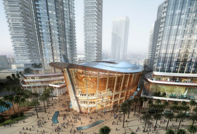Dubai Opera draws closer to completion