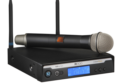 Electro-voice introduces new wireless mic system
