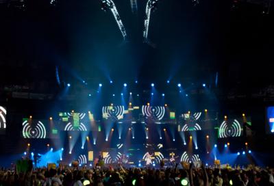 grandMA2 joins charity concert
