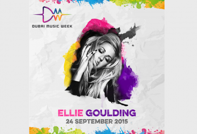 Ellie Goulding to perform at Dubai Music Week 2015