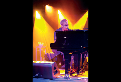 Martin Mac for Elton John's Sth America dates