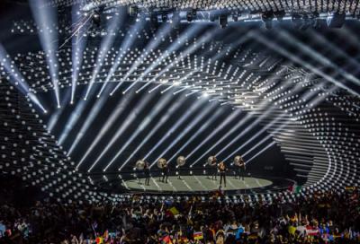 Clay Paky Mythos makes its Eurovision debut