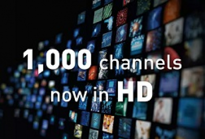 Eutelsat reaches 1000 HD channels milestone