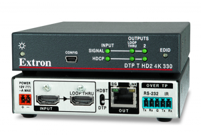 Extron announces 4K HDMI twisted pair transmitters