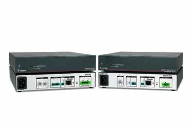 Extron launches new compact amplifiers with Dante
