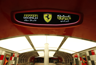 Ferrari World opening festivities aborted