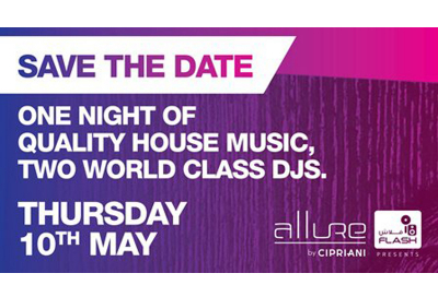 Flash hints at major house music event