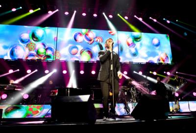 IN PICS: Gary Barlow in Dubai