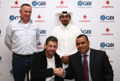 GBI signs cable landing deal with Vodafone Qatar