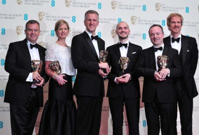 Gravity scoops six awards at BAFTAs