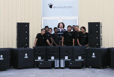 Evolution Rentals adds HK Audio array to kit