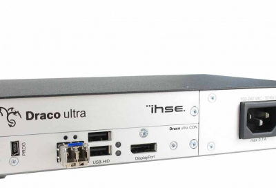IHSE USA to demo Draco ultra DP at InfoComm 2017
