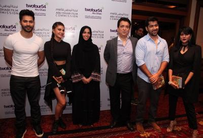 Bollywood execs in Abu Dhabi