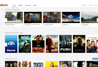 Revamped Icflix website launched