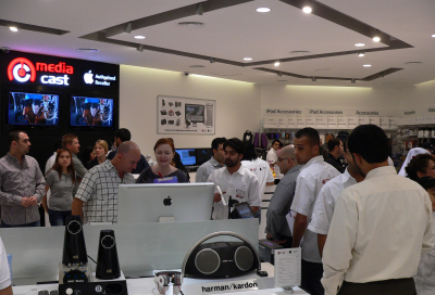 Mediacast brings new Apple store to Dubai